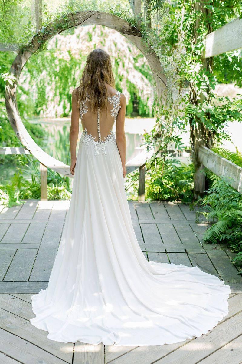 Robe Lillian West vintage mariage champêtre