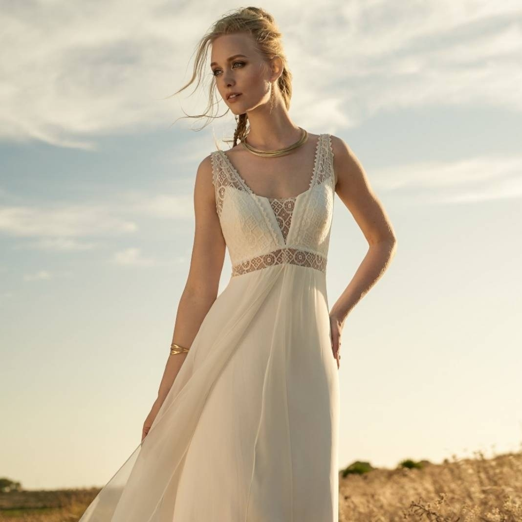 Robe De Mariee Marseille Forme Empire Rembo Styling Fluide Reference Grace A Toi Le Comptoir Des Mariees